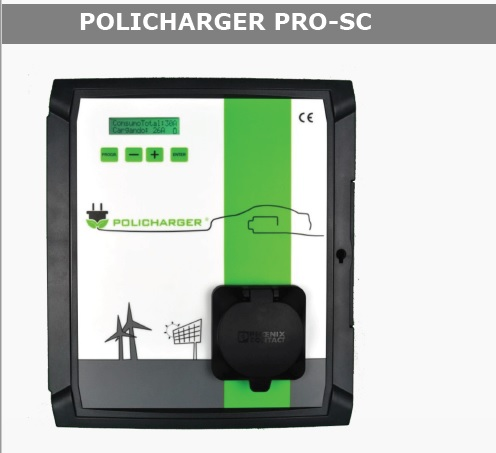 Policharger PRO Socket Tipo 2