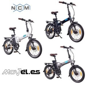 ncm-london-20-e-bike-colores-disponibles, en movel.es